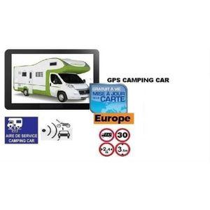 GPS AUTO GPS CAMPING CAR 2019  7 POUCES EUROPE GRATUITE A V