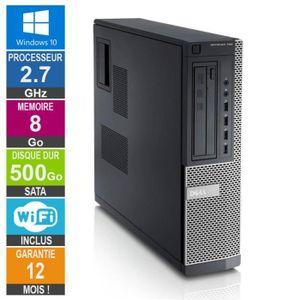 UNITÉ CENTRALE  PC Dell Optiplex 790 DT G630 2.70GHz 8Go/500Go Wif
