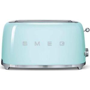 GRILLE-PAIN - TOASTER Smeg - grille-pains 2 fentes 1500w vert d'eau - ts