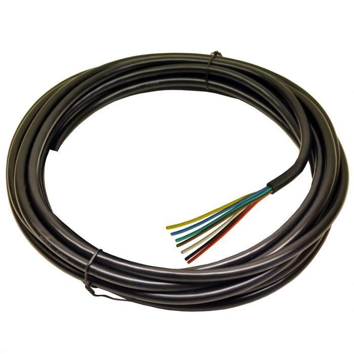 cable electrique pour remorque achat vente cable electrique pour remorque pas cher soldes. Black Bedroom Furniture Sets. Home Design Ideas