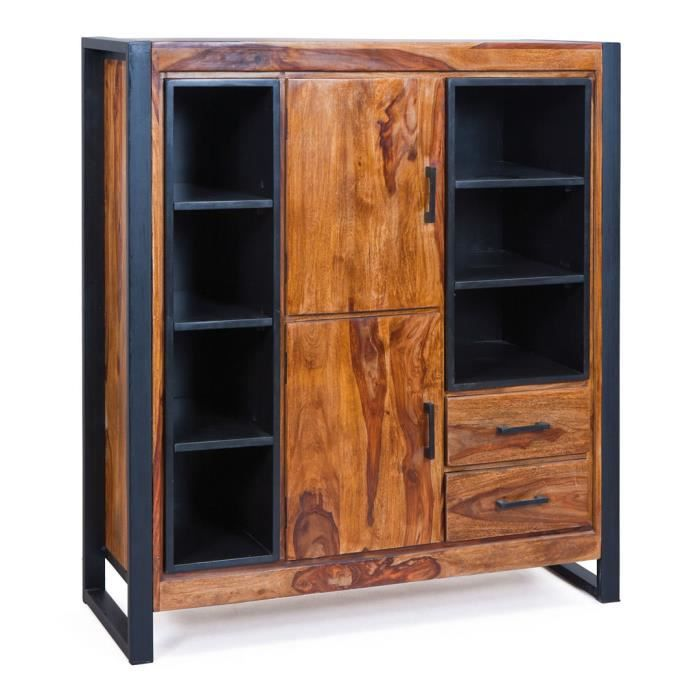 vaisselier bois massif achat vente vaisselier bois massif pas cher soldes d s le 10. Black Bedroom Furniture Sets. Home Design Ideas