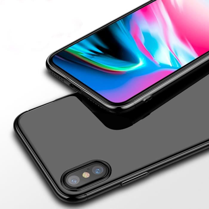 coque iphone x gris sideral