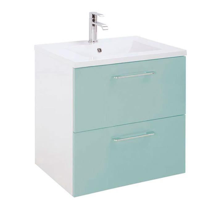 Ensemble meuble salle de bain Vert