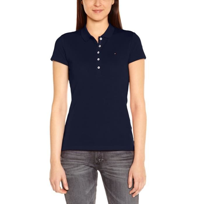 polo femme tommy hilfiger achat vente polo femme tommy hilfiger pas cher cdiscount