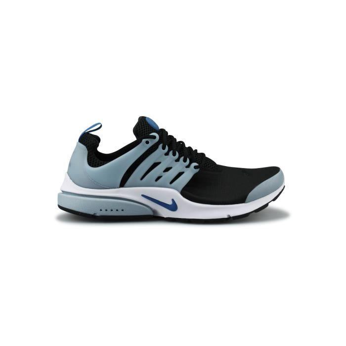 Baskets Nike Air PRESTO Essential Modèle 848187 010 Homme Gris Bleu.  GRIS - Achat / Vente basket  - Soldes* dès le 27 juin ! Cdiscount