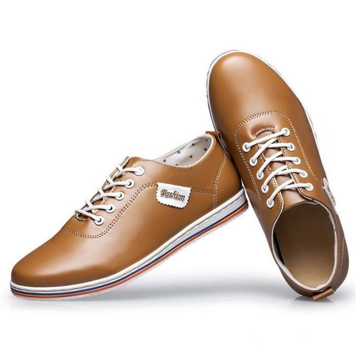 2017 Sneaker Qualité Confortable Luxe Moccasins hommes homme Super ete Nouvelle De Chaussures Supérieure arrivee Cuir Marque 5H1qHxwfa