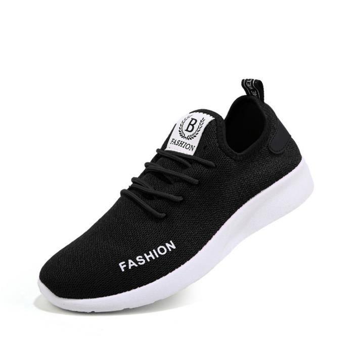 Baskets hommes Confortable Respirant Chaussures de sport Antidérapant Plus Taille 2017 nouvelle marque de luxe chaussure sIgU0IEM23