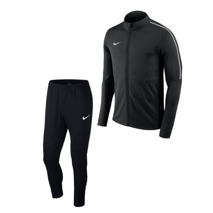 Survêtement Nike Park18   adulte Noir NOIR - Achat   Vente ... 2b3a1efaaf68