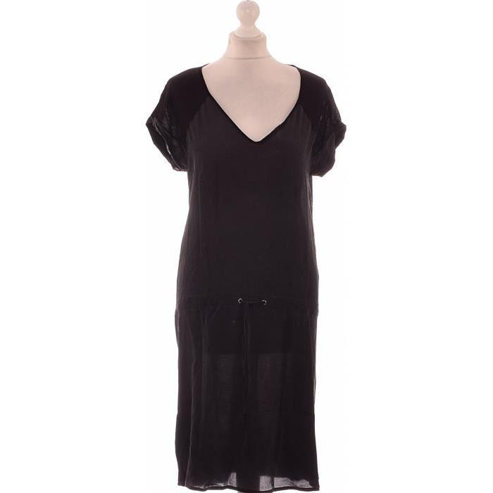 Robe Comptoir Des Cotonniers Occasion Très Bon état Noir Noir