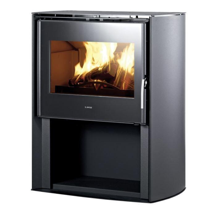 supra denver 1 noir structur po le bois 10 kw achat vente po le insert foyer supra. Black Bedroom Furniture Sets. Home Design Ideas