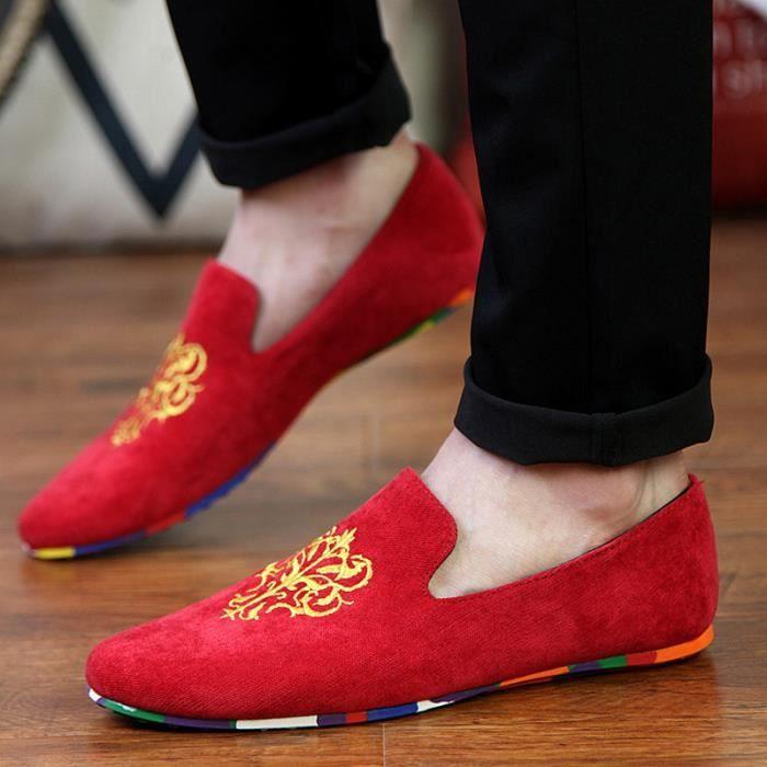 Les c chaussures hommes toile personnalisés de HPqHv