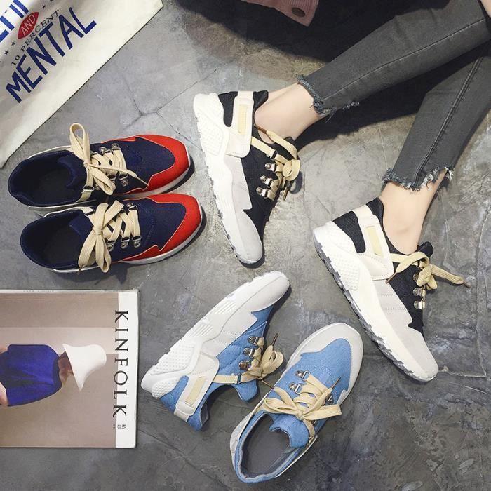 Baskets femme Baskets modeChaussures de ville Chaussures populaires Chaussures sport en solde