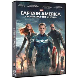 DVD FILM DVD Captain America 2 : Le soldat de l'hiver - Mar