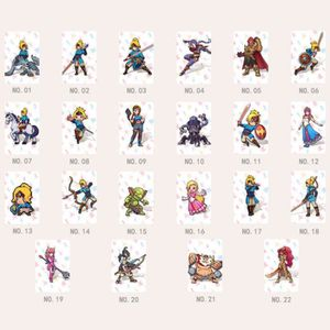 CARTE A COLLECTIONNER 22 Full Set NFC PVC Tag Card ZELDA BREATH OF THE W