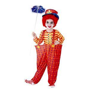 DÉGUISEMENT - PANOPLIE Costume petit clown 7-9 ans
