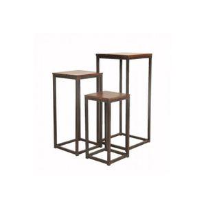 sellette bois achat vente pas cher. Black Bedroom Furniture Sets. Home Design Ideas