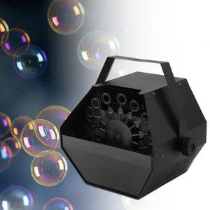 MACHINE À BULLES 25 w machine à bulles télécommande effet de scène