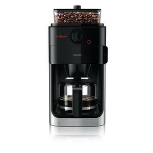 MACHINE À CAFÉ Philips Grind & Brew HD7767 Cafetière 12 tasses Mé