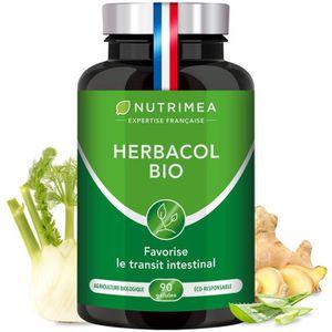 DIGESTION - TRANSIT  HERBACOL • Complément Alimentaire Nettoie et Purif