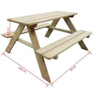 Jardin d\'enfants mobilier de terrasse chaise chaise en bois haut de ...