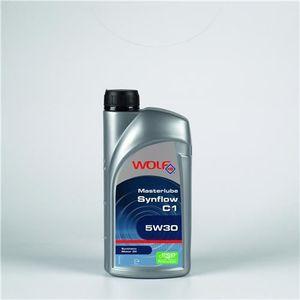 HUILE MOTEUR Bidon 5 litres d'huile 5w30 C1 Wolf SYNFLOWC15W305