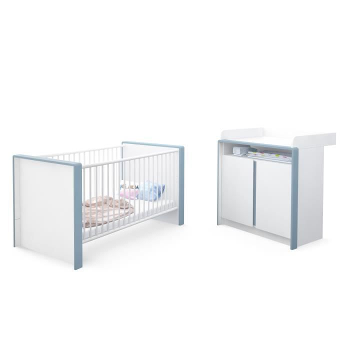 Perfect chambre bb enfant complte ensemble with cdiscount for Cdiscount chambre adulte