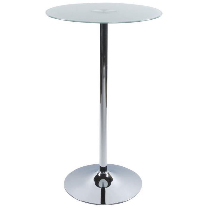 Table bar haute verre - Achat / Vente Table bar haute verre pas ...