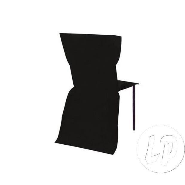 Housse De Chaise Papier Intisse Epais Noir