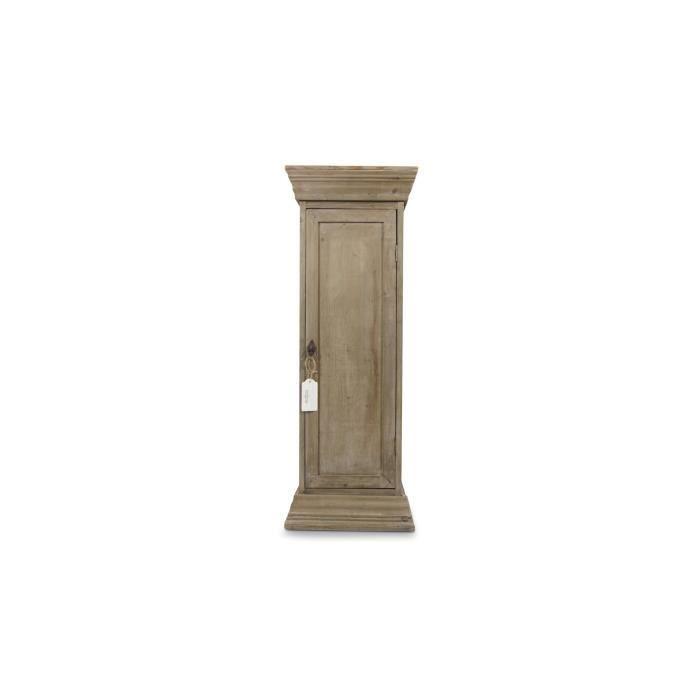 Meuble bas rangement bois 1 porte achat Meuble de rangement chambre