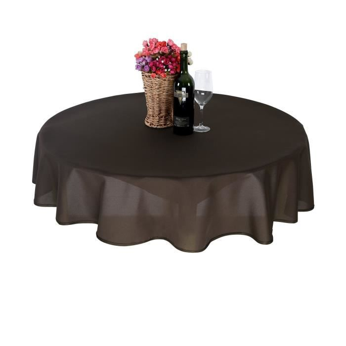 Beautiful Nappe Pour Table De Jardin Ronde Pictures - Awesome ...