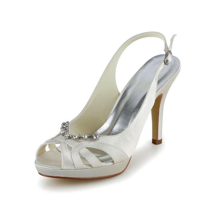 Jia Jia Wedding 37057 chaussures de mariée mariage Escarpins pour femme