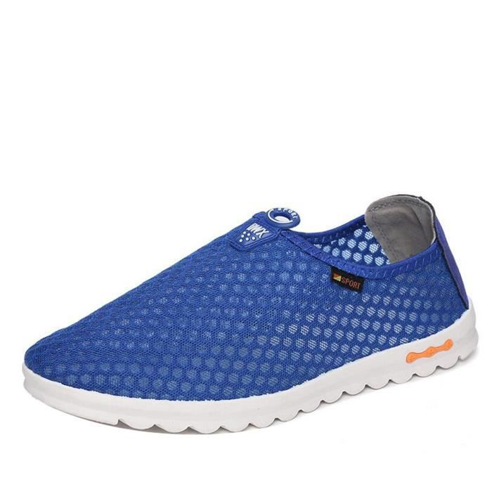 Sneakers unisex Chaussure Mocassin maille GYM ... Wua6P