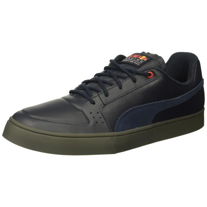 new product a3dbf aa57a Puma RBR Ailes Vulc Sneaker en cuir P1FMJ Taille-44