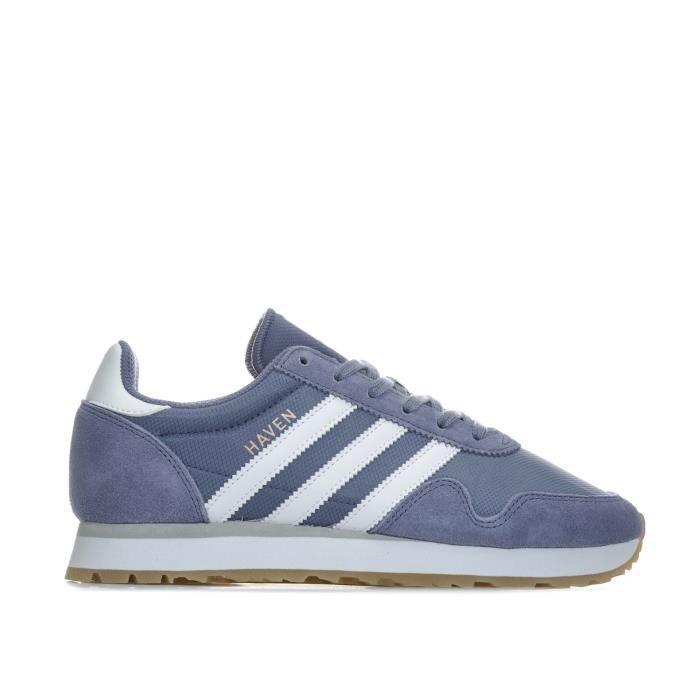 outlet store e794d fdbf5 BASKET Baskets adidas Originals Haven pour femme en viole