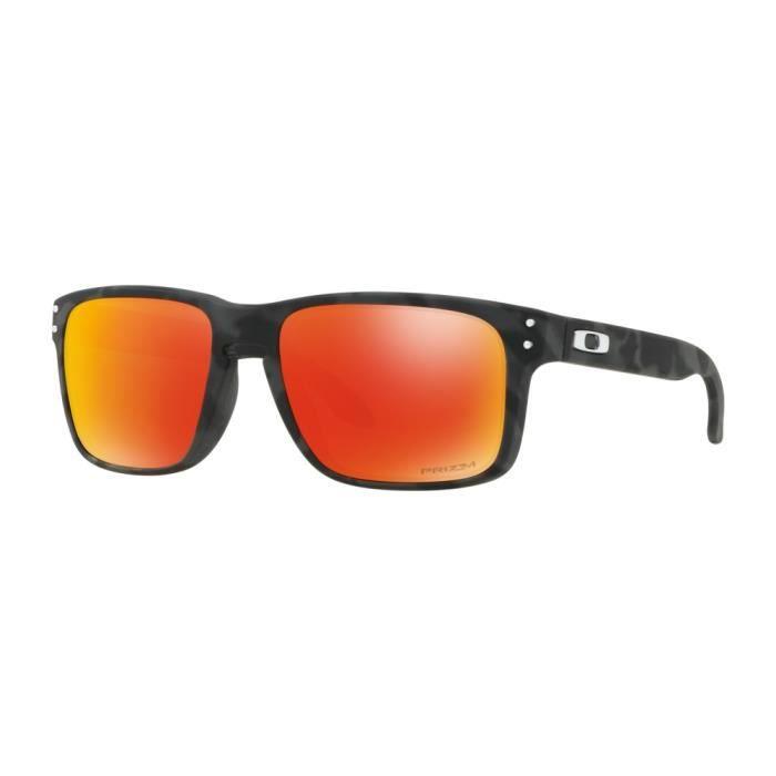 9e1f4366e27d16 Oakley Holbrook Black Camo, Hommes, Rectangulaire, Classique, Cerclé ...