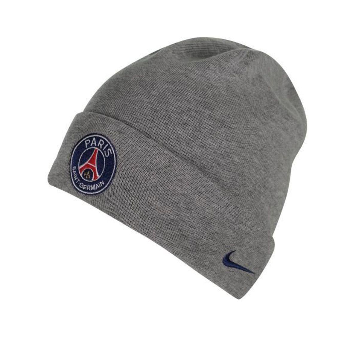 prix de détail haute couture vraie affaire Bonnet PSG Gris Gris - Achat / Vente bonnet de sport ...