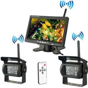 RADAR DE RECUL Nouvelle Caméra de Recul Sans Fil 7 Pouces HD LCD