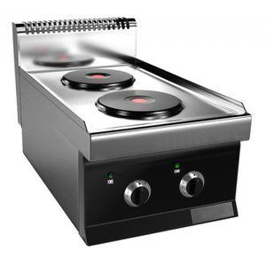 plaque de cuisson electrique 4 feux achat vente pas cher. Black Bedroom Furniture Sets. Home Design Ideas