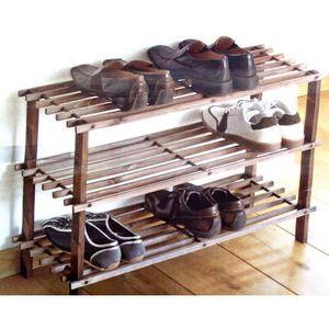etageres en bois achat vente etageres en bois pas cher soldes d s le 10 janvier cdiscount. Black Bedroom Furniture Sets. Home Design Ideas