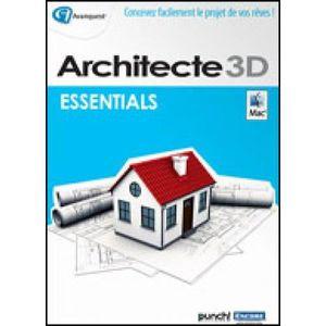 LOISIRS À TÉLÉCHARGER Logiciel Design MAC- Architecte 3D pour Macintosh®