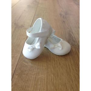 De Blanche Fille Cristal Blanc Achat Bapteme Chaussures 0x64qZw