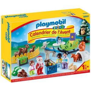 FIGURINE - PERSONNAGE PLAYMOBIL 1 2 3 9391 - PLAYMOBIL 1.2.3 - Calendrie