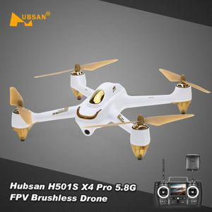 DRONE Hubsan X4 H501S RC Drone 5.8G FPV 1080P HD Brushle