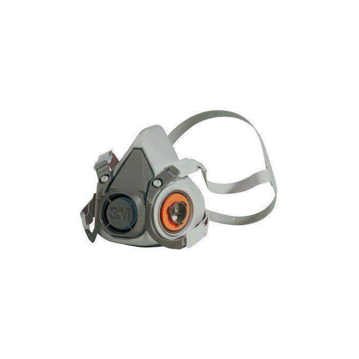 MASQUE DE PROTECTION DE CHANTIER Demi masque 3M 6200 Taille M 0e6a46d365b2