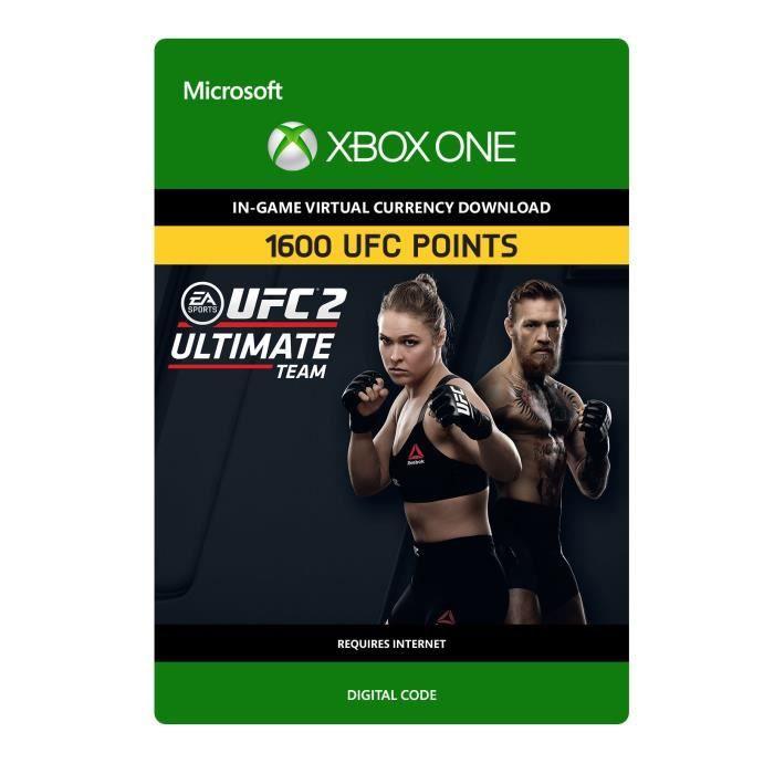 DLC UFC 2: 1600 UFC Points pour Xbox One