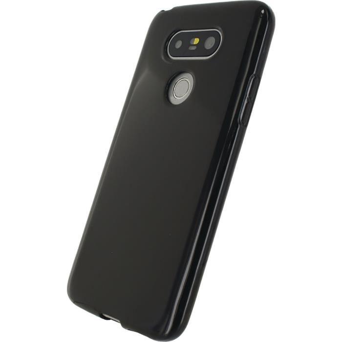 MOBILIZE Coque de protection Gel silicone pour telephone LG G5 SE Noir