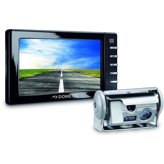DOMETIC Caméra de Recul PerfectView Double Optique avec Obturateur CAM44 RVS 594