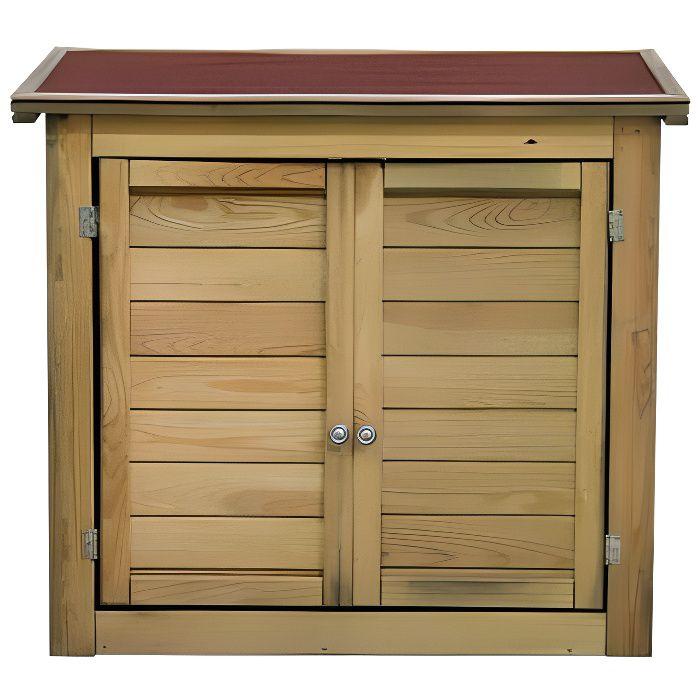 Petit abri de jardin en bois achat vente pas cher - Armoire de jardin bois pas cher ...