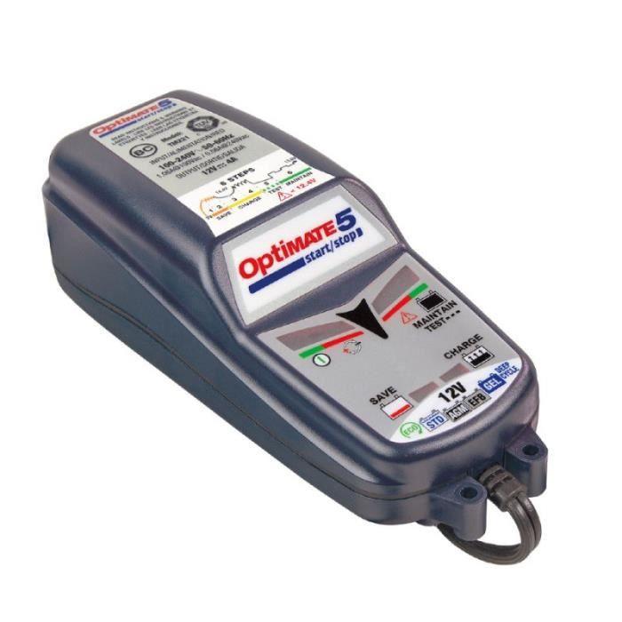 CHARGEUR DE BATTERIE Chargeur de batterie START-STOP OPTIMATE 5 Honda