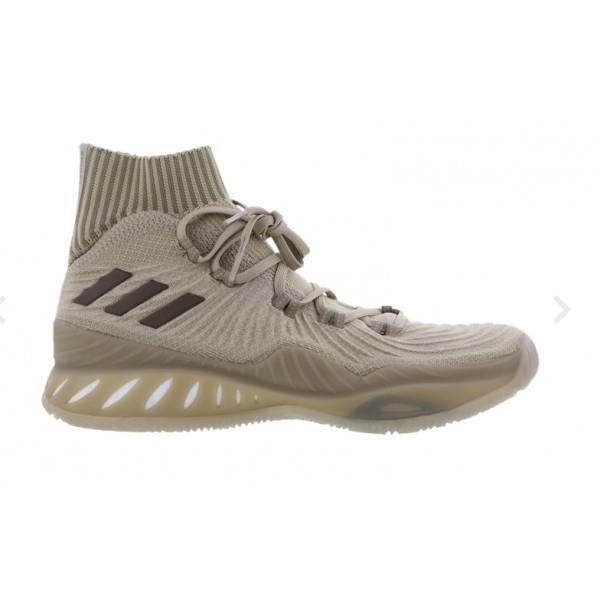 buy popular 65b6c d2ffe Chaussure de Basketball adidas Crazy Explosive Primeknit 2017 Beige pour  homme
